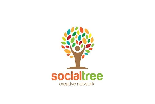 Logo de l'arbre de l'homme.