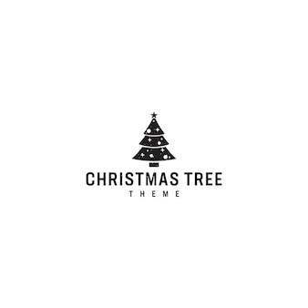 Logo arbre de noel