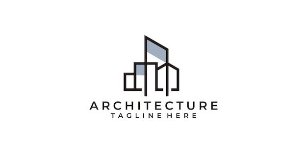 Logo de l'architecture moderne