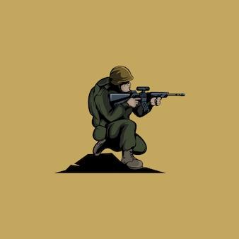 Logo de l'armée