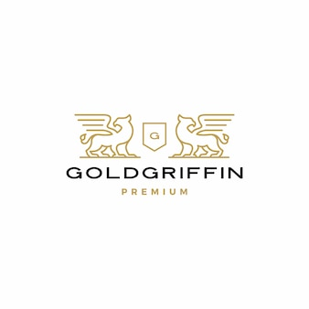 Logo des armoiries griffin