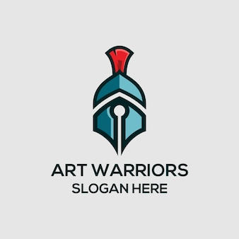 Logo d'art guerrier
