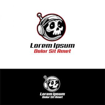 Logo de l'astronaute skull