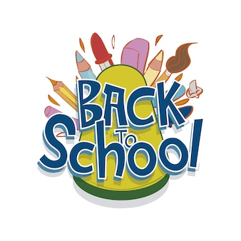 Logo back school