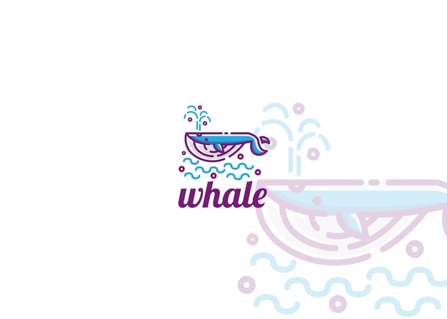 Logo de baleine