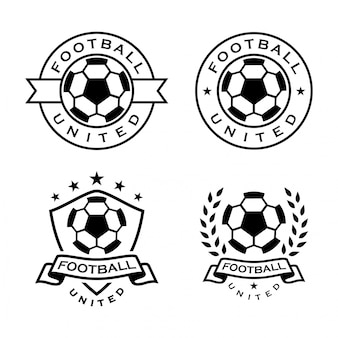 Logo de ballon de football