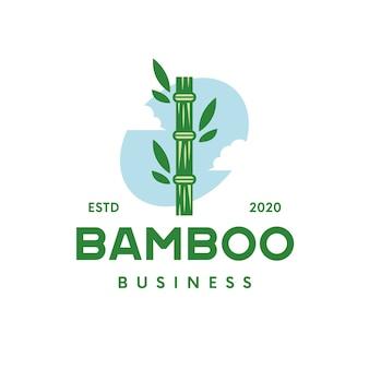 Logo en bambou