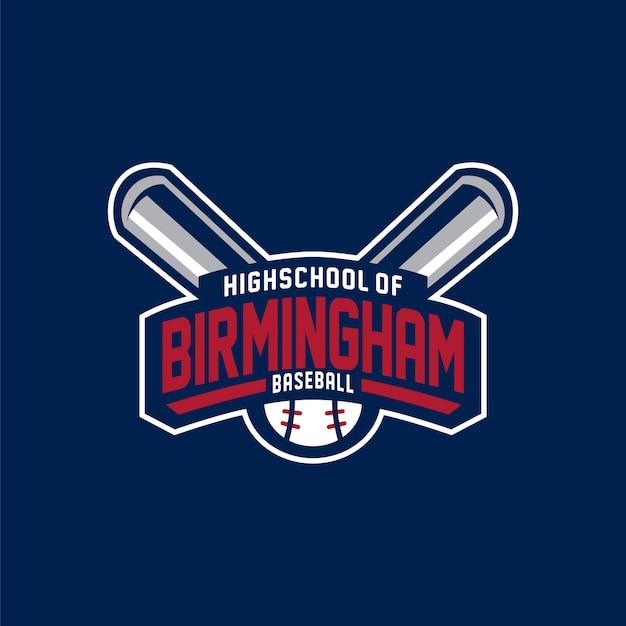 Logo de baseball birmingham