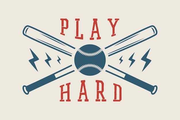 Logo de baseball, emblème