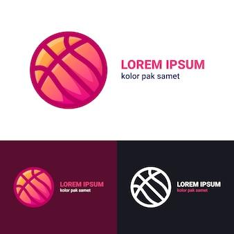 Logo de basketball