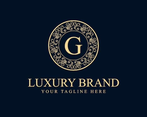 Logo de beauté florale féminine calligraphique monogramme héraldique dessiné à la main design de luxe de style vintage antique adapté à l'hôtel restaurant café café spa salon de beauté boutique de luxe cosmétique