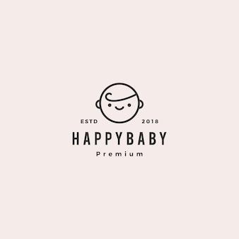 Logo bébé bébé bébé heureux