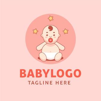 Logo bébé détaillé