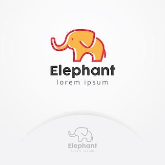 Logo de bébé éléphant