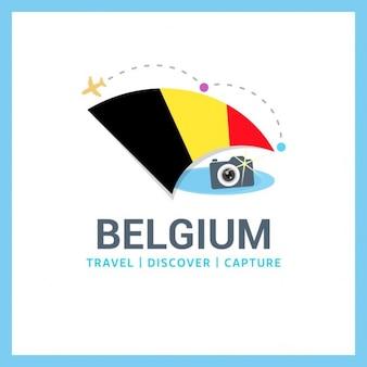 Logo belgique voyage