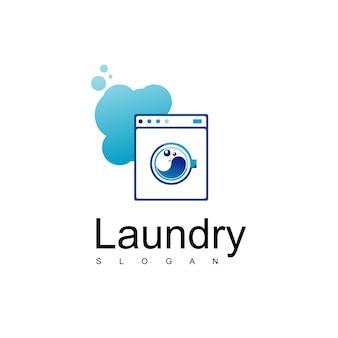 Logo de blanchisserie