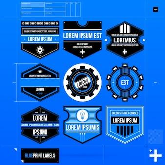 Logo bleu collection