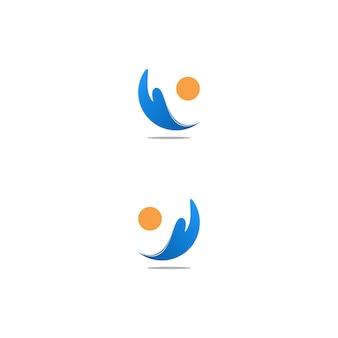 Logo blue wave