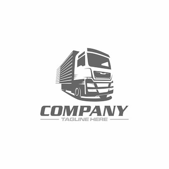 Logo de boîte de camion