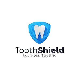 Logo de bouclier dentaire