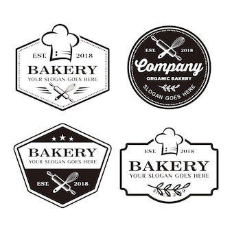 Logo de boulangerie, logo de cuisson