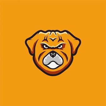 Logo de bouledogue