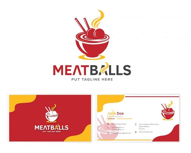 Logo boulettes de viande