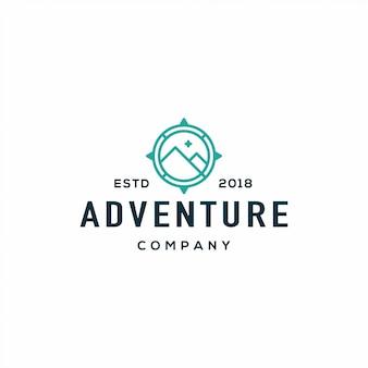 Logo boussole aventure