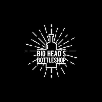 Logo de la bouteille