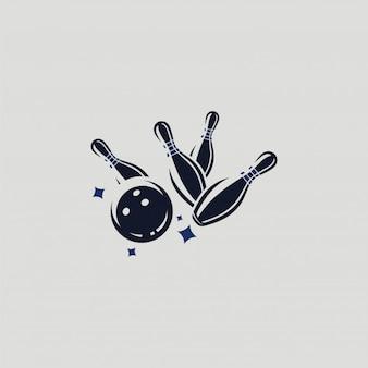 Logo de bowling