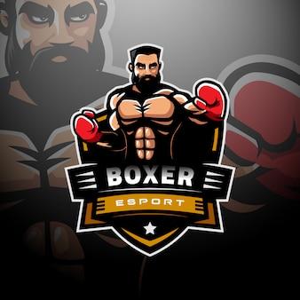 Logo de boxe esport