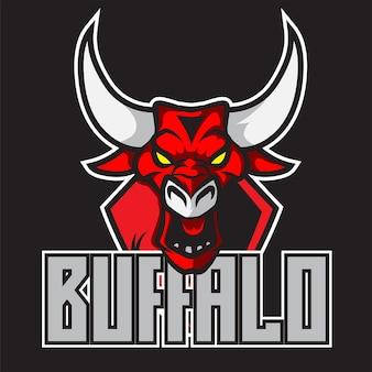 Logo buffalo bull esport