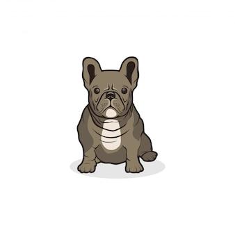 Logo bulldog prêt à l'emploi