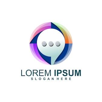 Logo de bulle de discussion