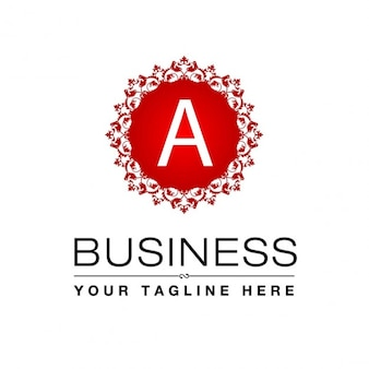 Logo business a monogram