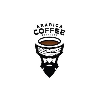 Logo de café arabica
