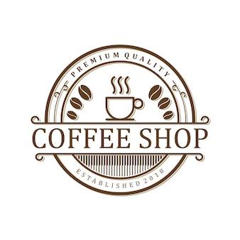 Logo de café vintage