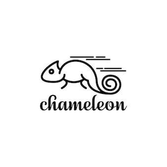 Logo caméléon