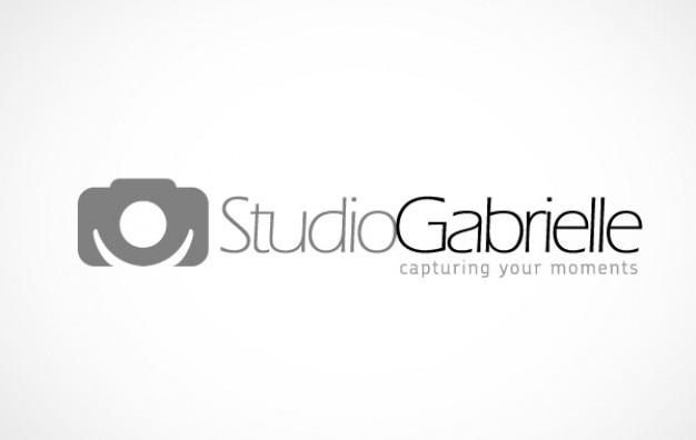 Logo caméra studiogabrielle