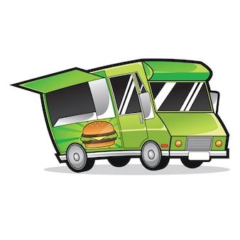 Logo de camion de nourriture