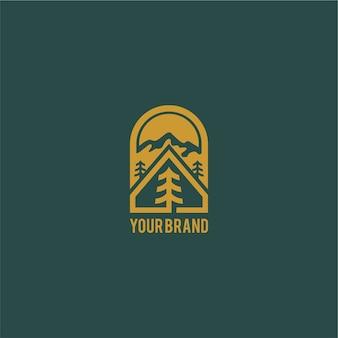 Logo de camping