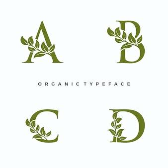 Logo de caractère organique