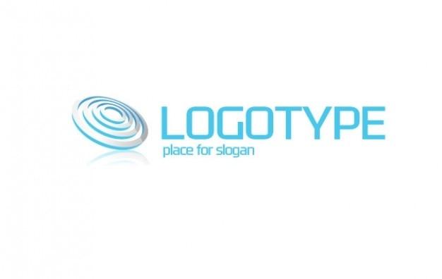 Logo cercles à l'intérieur othe cercle logotype