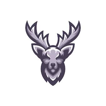 Logo de cerf vecteur