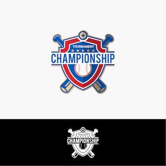 Logo de champion de baseball