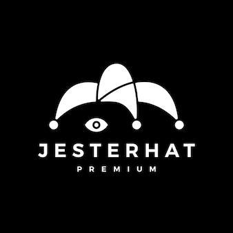 Logo de chapeau de bouffon