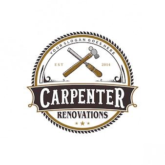 Logo de charpentier vintage