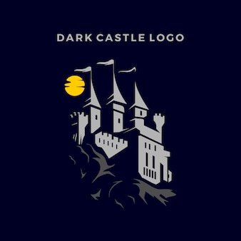 Logo de chateau foncé