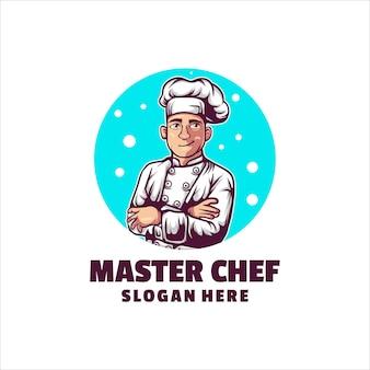 Logo de chef cuisinier