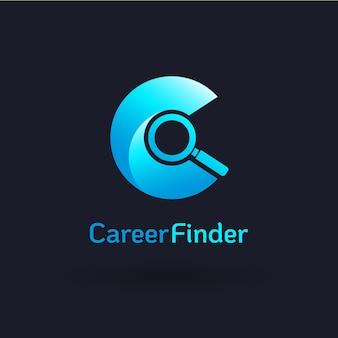 Logo de chercheur de carrière